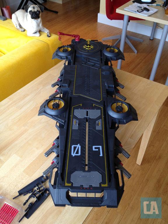 SHIELD Helicarrier - Aeroportaviões dos Vingadores - Hasbro - Blog Farofeiros