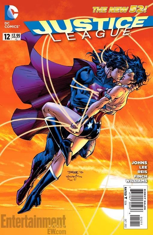 Conheça o casal Superman e Mulher Maravilha - Novos 52 - Blog Farofeiros