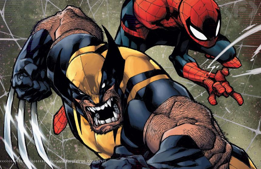 Joe Madureira desenhando Wolverine - Blog Farofeiros