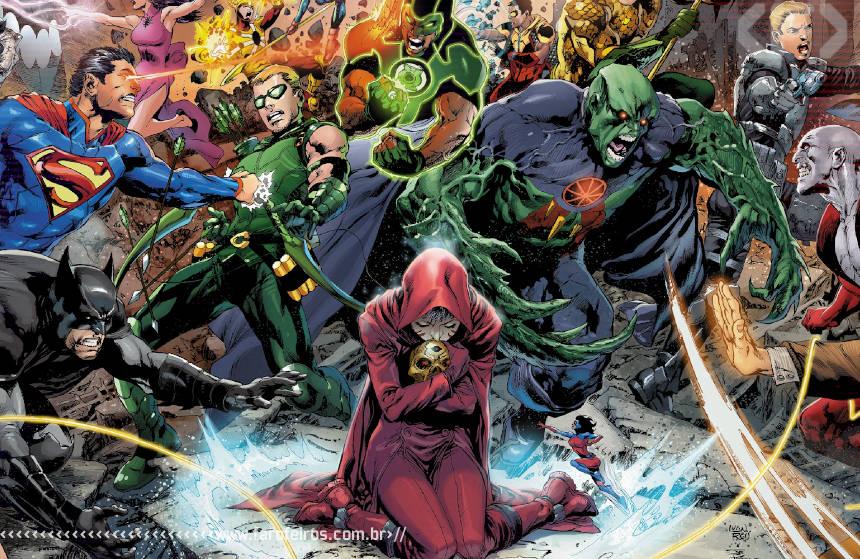 Com o fim de Trinity War a maldade fica relativa - DC Comics - Blog Farofeiros
