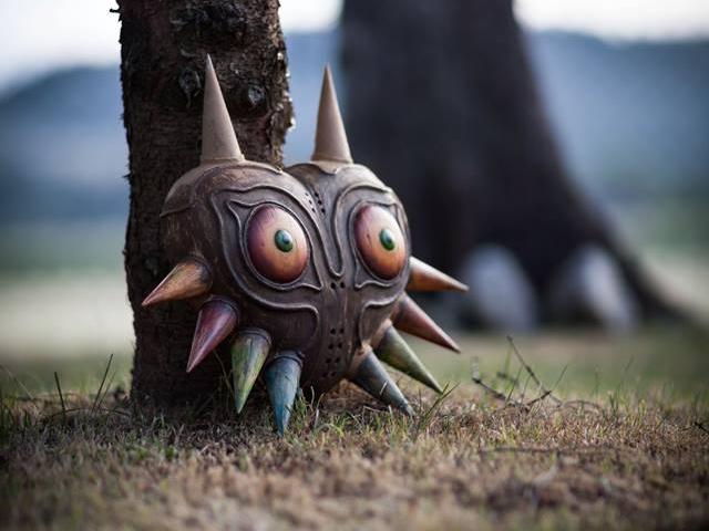 Faça sua própria Máscara de Majora de Legend of Zelda