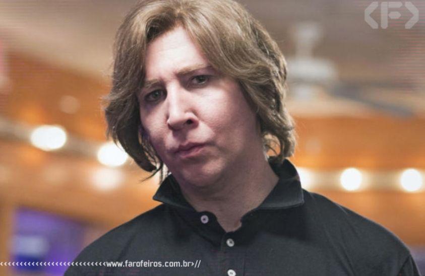 Marilyn Manson sem maquiagem - Blog Farofeiros