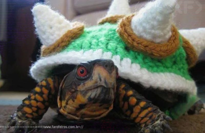 Cosplay de Bowser - Blog Farofeiros