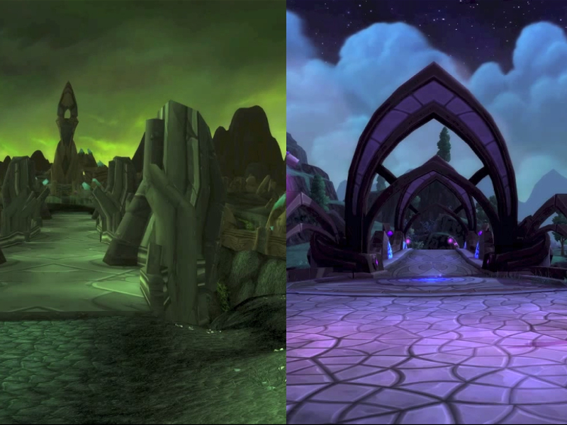World of Warcraft - comparando Outland e Draenor - Blog Farofeiros