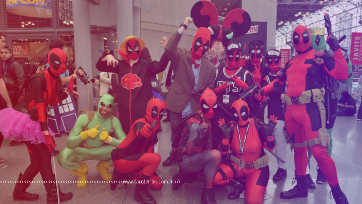 Deadpool - Dead Pool Party - Blog Farofeiros