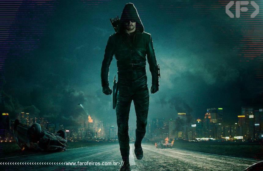A DC é mais realista que a Marvel - Arrow sombrio e realista - Oliver Queen - Blog Farofeiros