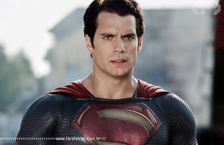 A DC é mais realista que a Marvel - Superman - Man of Steel - Henry Cavill - Blog Farofeiros