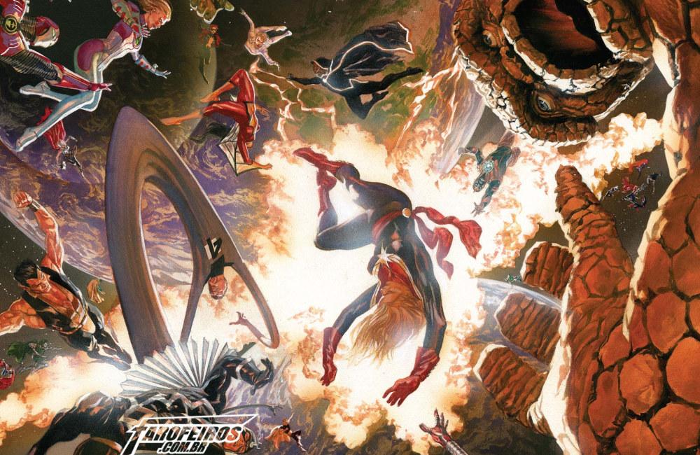 Preview de Guerras Secretas #1 - Marvel - Secret Wars - Blog Farofeiros