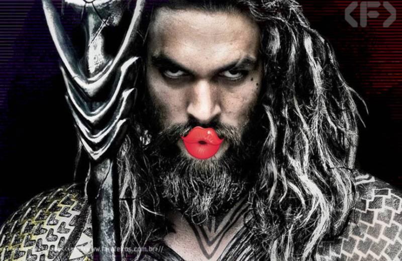 Beijo de Poseidon - Aquaman - Blog Farofeiros