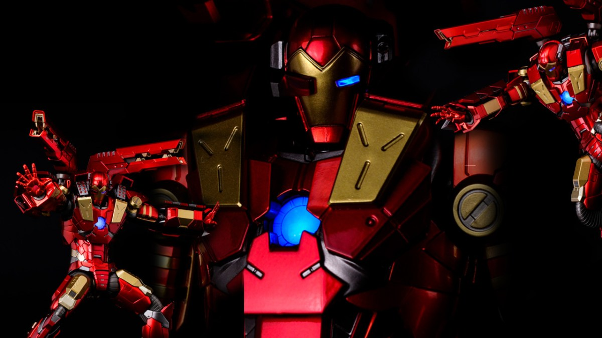 Homem de Ferro Mecha - Iron Man RE EDIT
