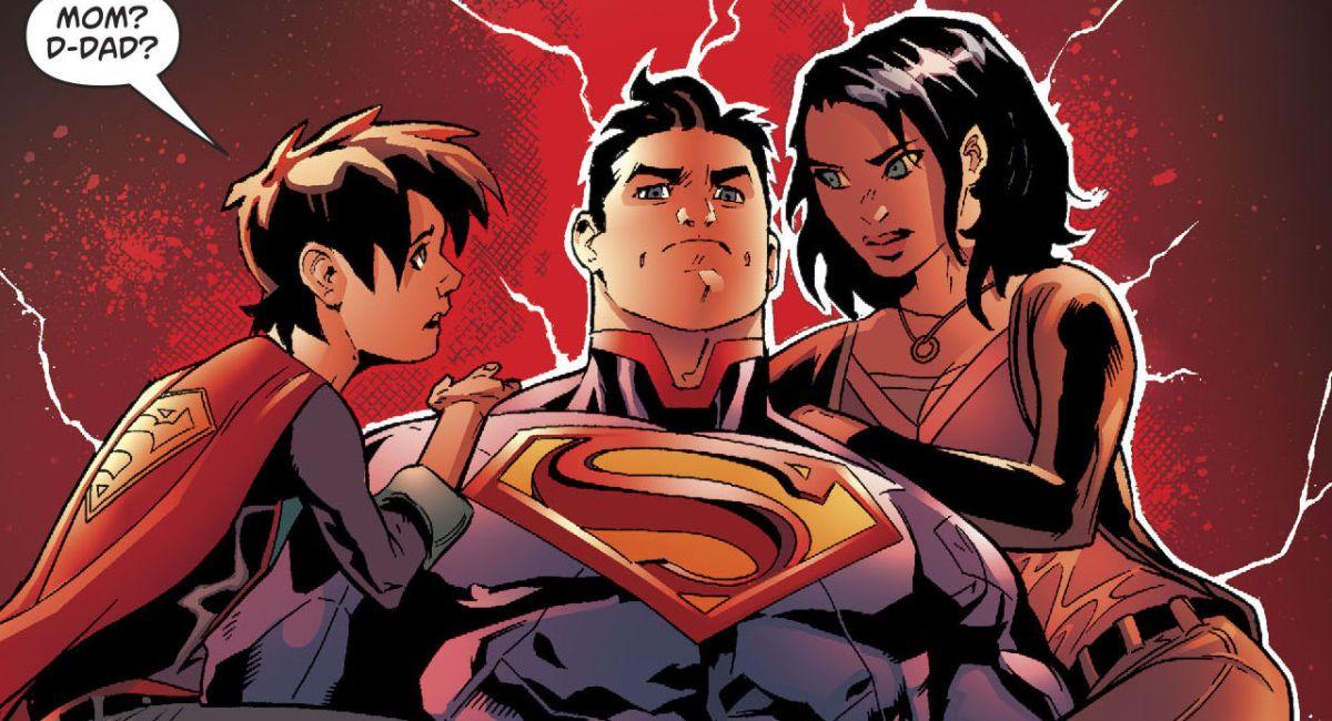Superman Renascido e Dividido