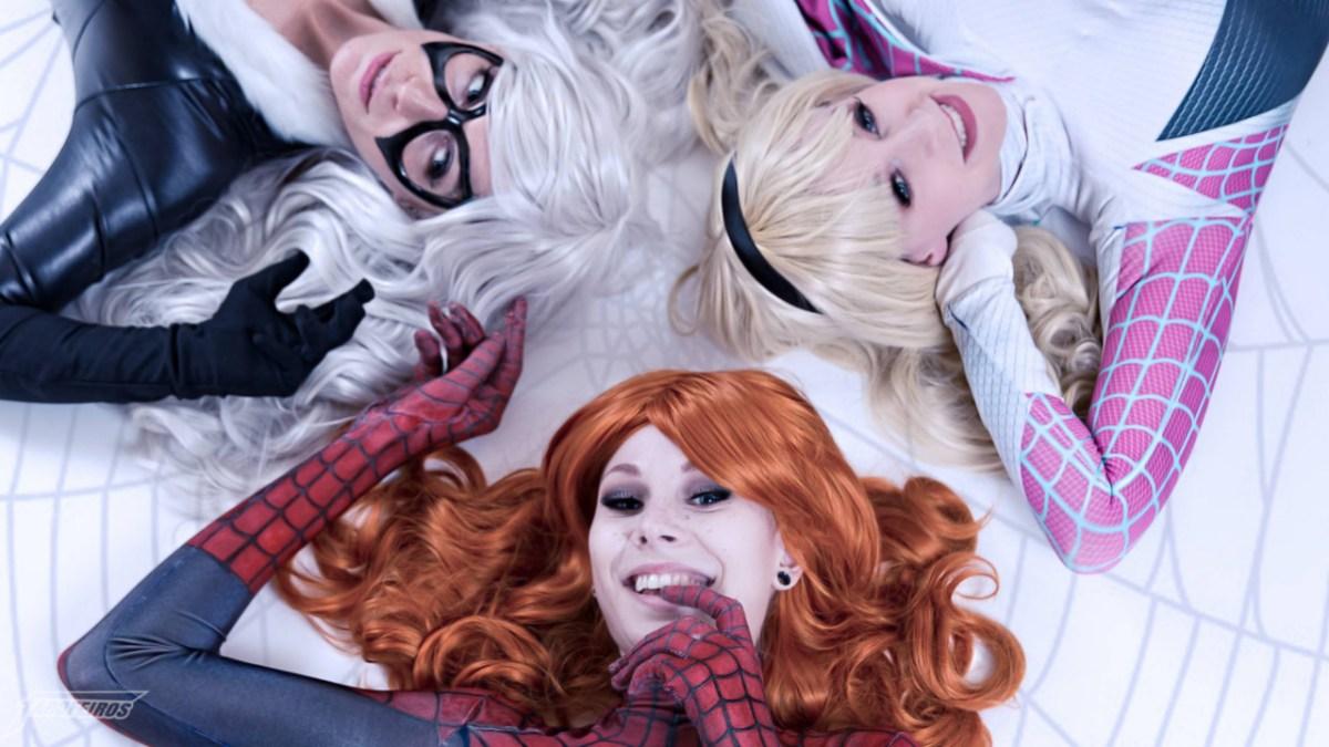 Garotas da Capa - Homem Aranha