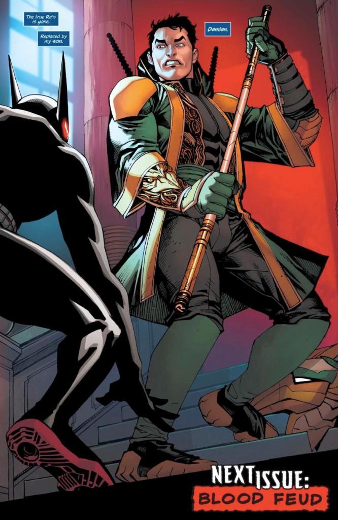 O retorno de Ra's Al Ghul em Batman Beyond