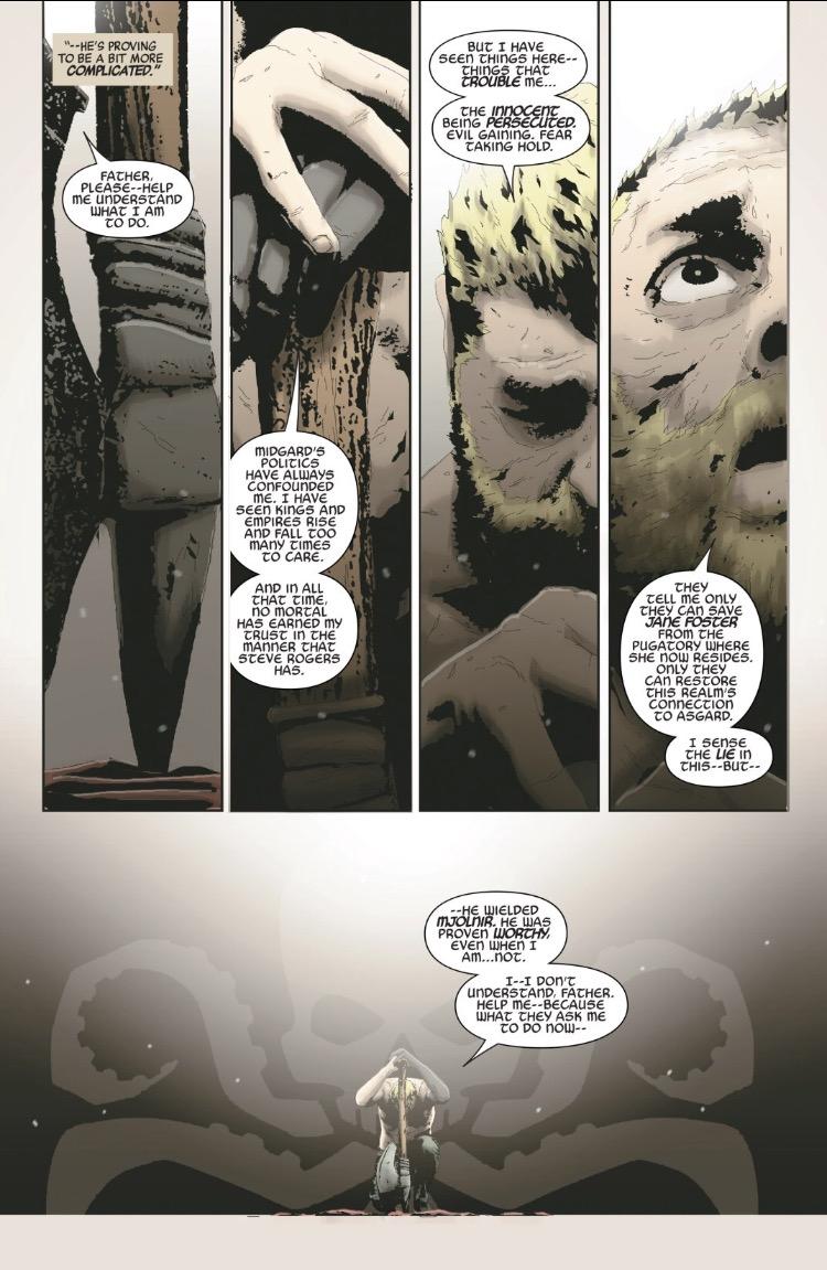 As motivações dos Vingadores da Hidra - Secret Empire #5 - Thor Odinson