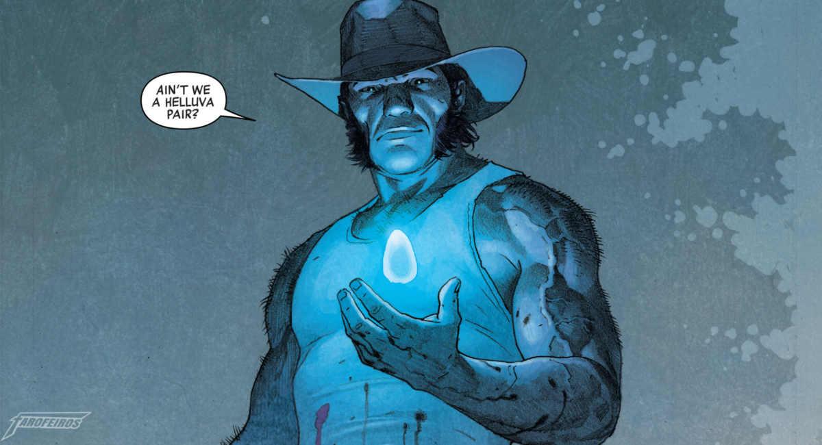 Legado Marvel - O Retorno do Quarteto Fantástico - Wolverine com Joia do Infinito
