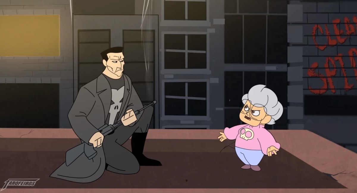 Justiceiro e sua Mãe