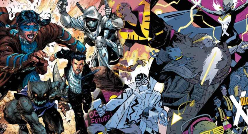 O Multiverso Sombrio da DC é a Marvel - Immortal Men - X-Men