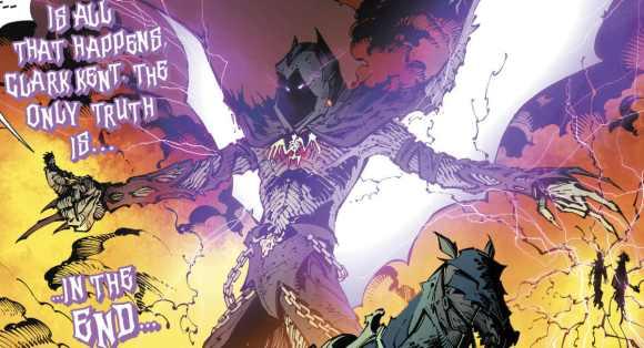 Barbatos de Noites Sombrias: Metal - DC Comics volta a dominar as vendas em Janeiro de 2018 nos EUA