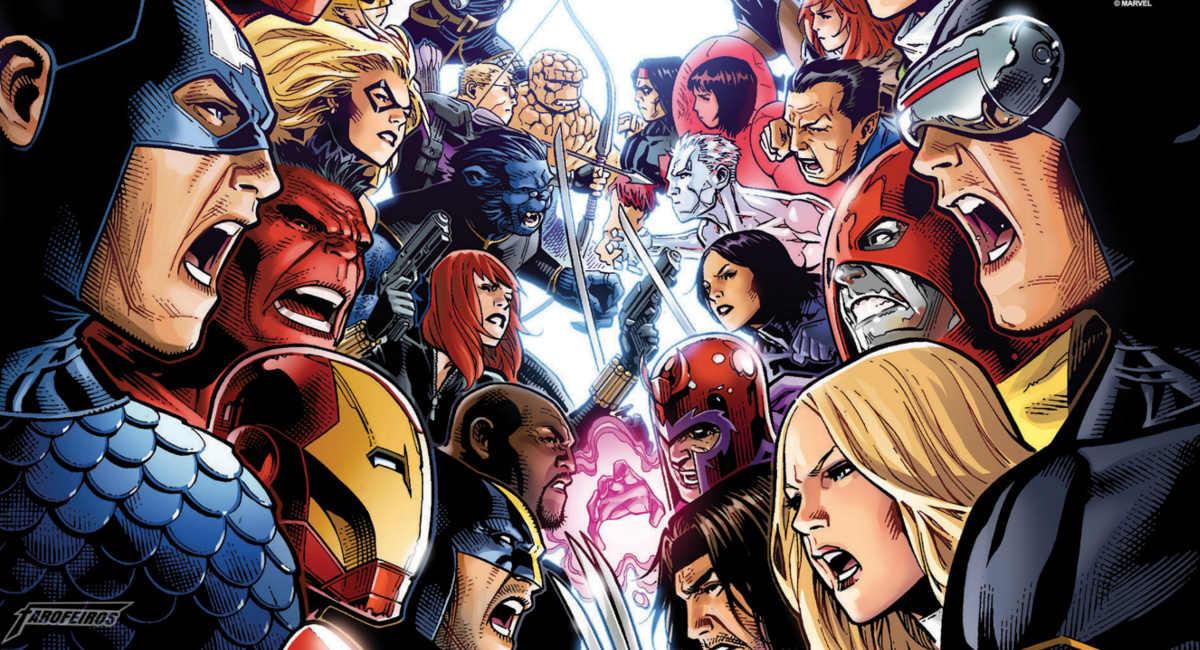 Vingadores 4 pode ser Guerras Secretas? - Vingadores vs X-Men