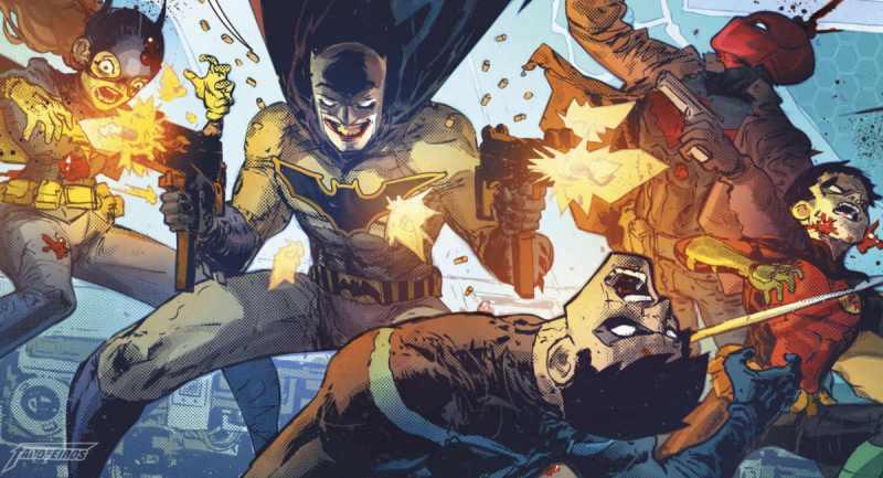 Quem são os Cavaleiros das Trevas - Batman - Metal - The One How Laugh - O Batman que ri - Noites de Trevas - Blog Farofeiros