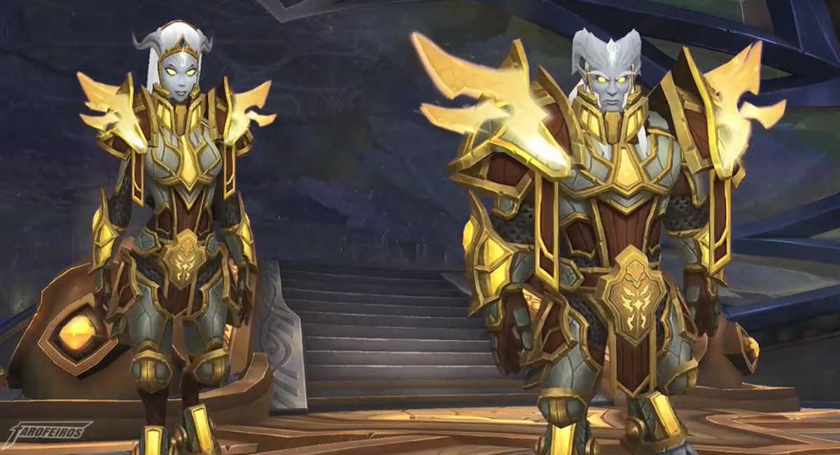 World of Warcraft na Blizzcon 2017 - Lightforged Draenei - Raças Aliadas