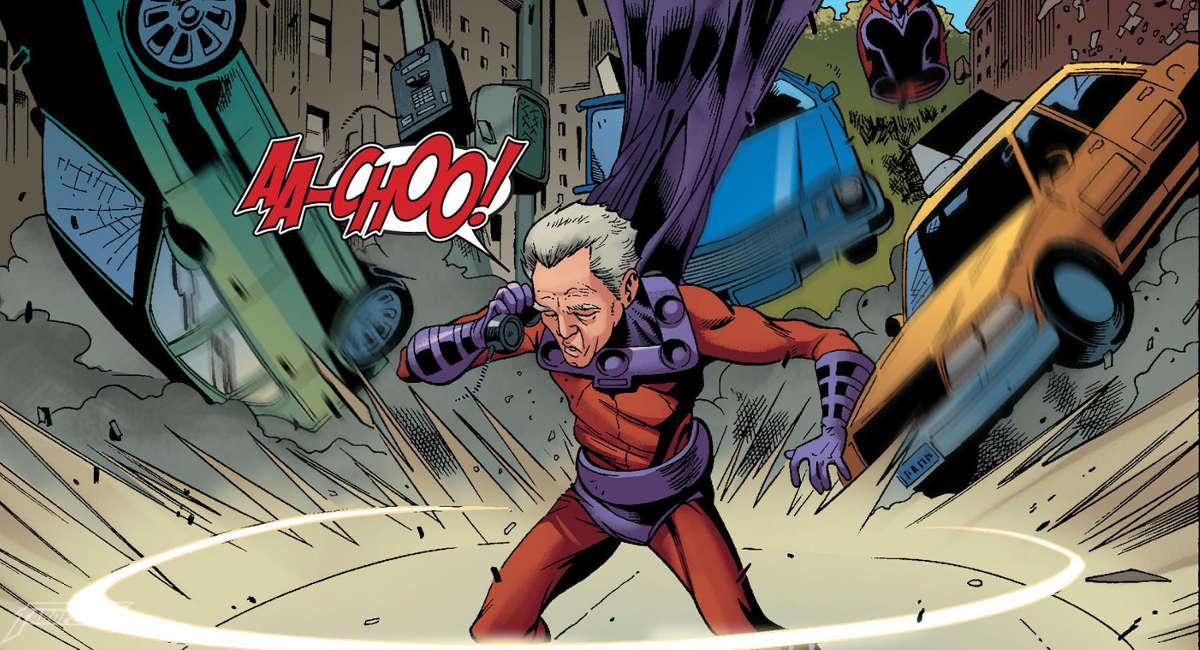 Magneto com aquela gripe gostosa