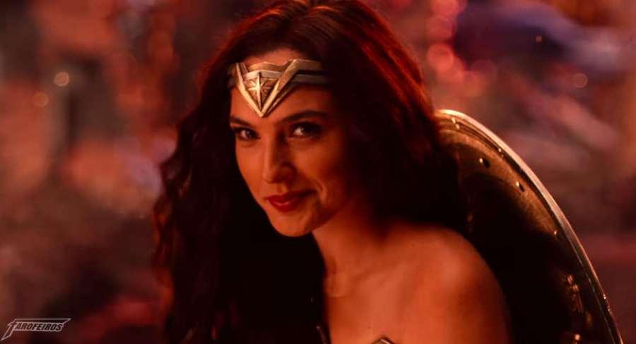 Mulher Maravilha rindo - Agenda dos filmes Marvel e DC