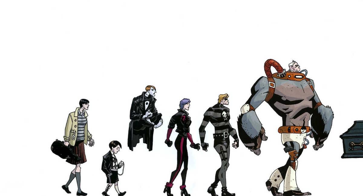 O elenco de Umbrella Academy toma forma