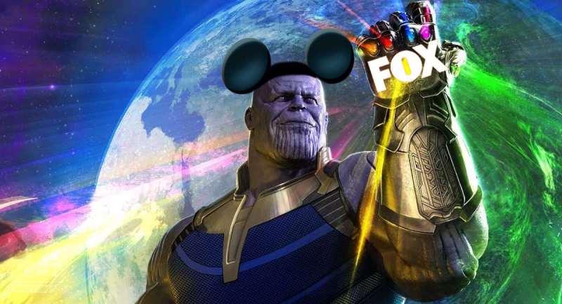 Disney pagou 52 bilhões de dólares pela Fox