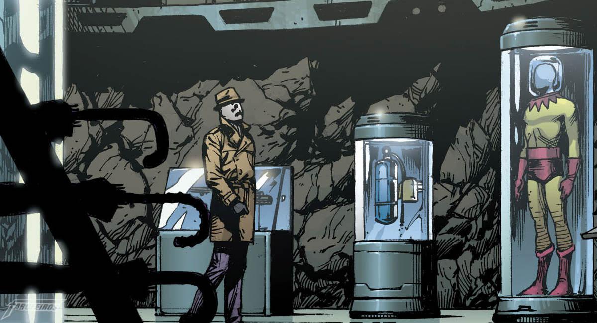 O Relógio do Juízo Final #2 - Rorschach encontra Batman