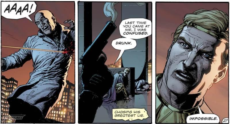 O Relógio do Juízo Final #2 - Rorschach encontra Batman - Luthor é alvejado