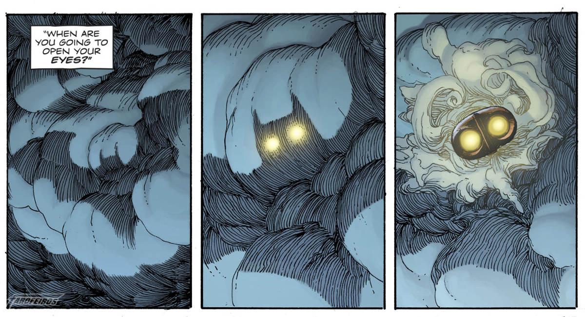 O Relógio do Juízo Final #2 - Rorschach encontra Batman - Ozymandias em Gotham City