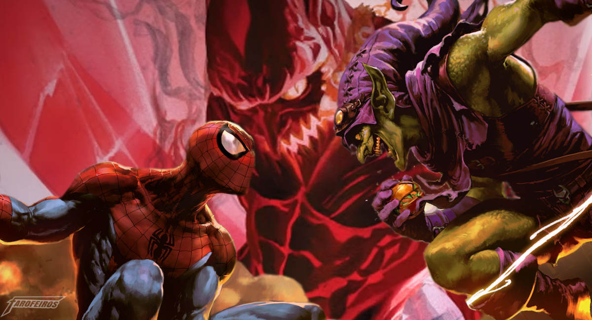 A identidade do Duende Vermelho - Homem Aranha