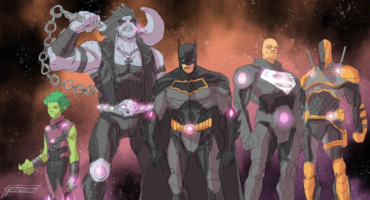Liga da Justiça - No Justice - Sem Justiça - Noites de Trevas