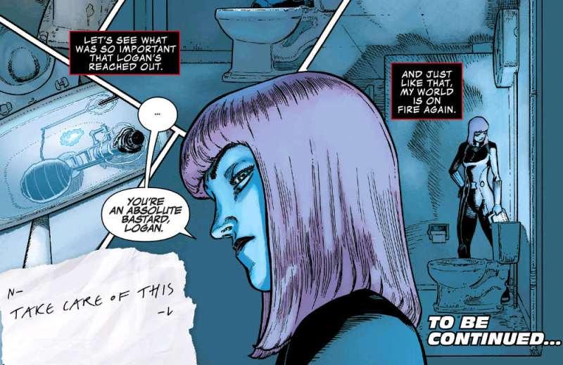 Contagem Infinita - Logan deixa Joia do Espaço para Viúva Negra