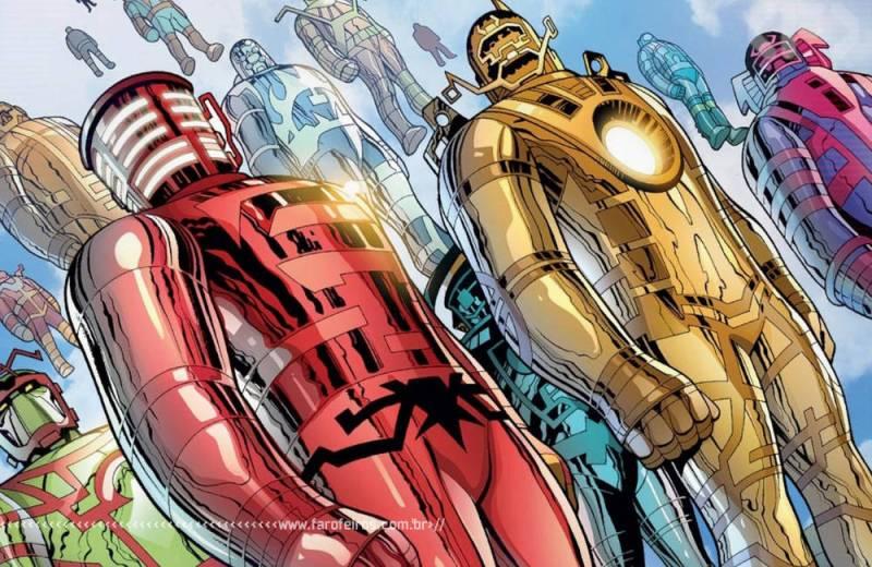 Quem é o mais poderoso da Marvel Comics - Celestiais - 2 - Blog Farofeiros