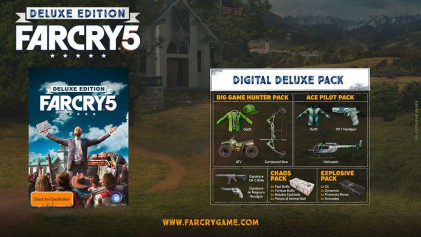 Season Pass de Far Cry 5 - Deluxe Edition