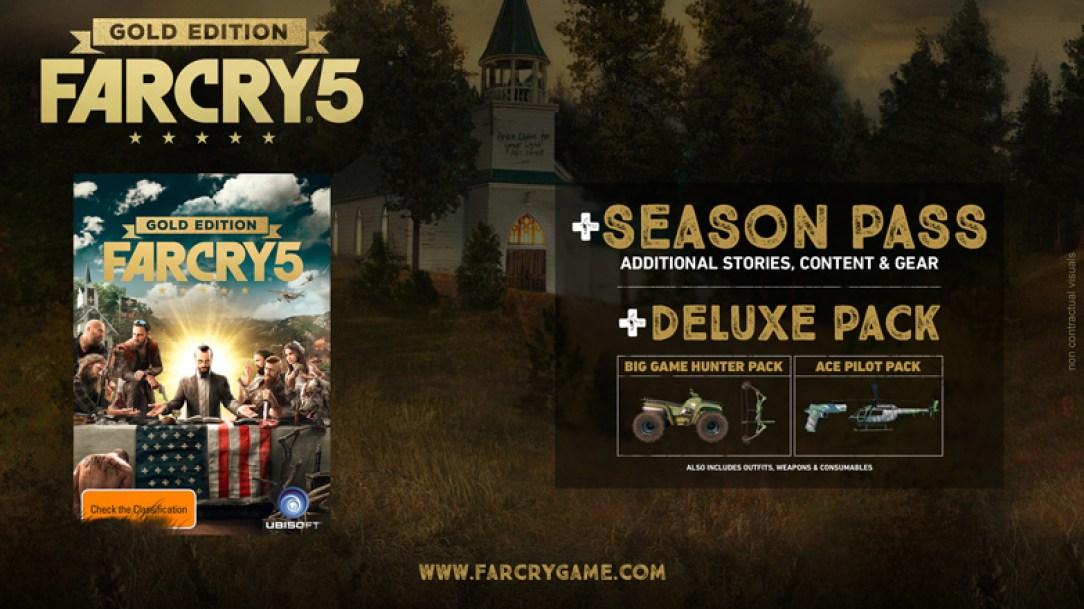 Season Pass de Far Cry 5 - Gold Edition