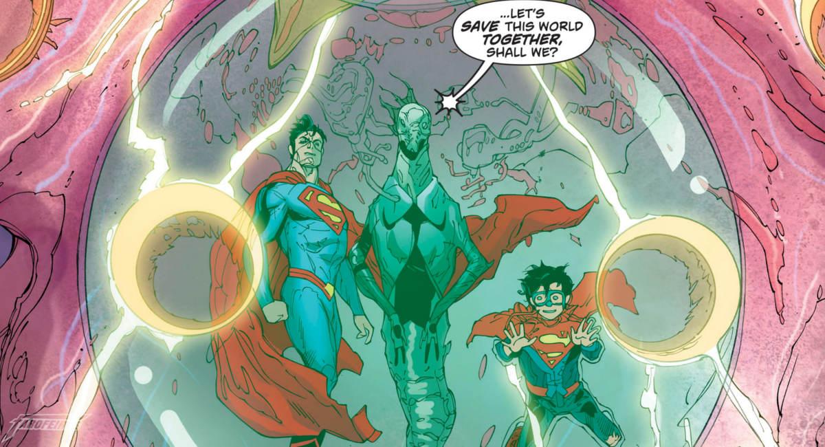Superman contra extremistas religiosos