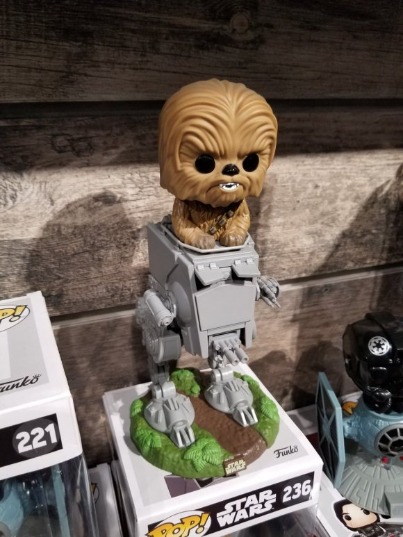 Toy Fair 2018 - Funko - Star Wars - Chewbacca - At-ST