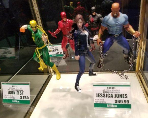Toy Fair 2018 - Kotobukiya - Defensores