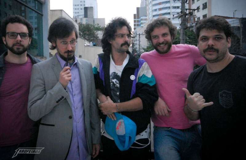 Chocado culturalmente - TV Quase - Raul Chequer, Daniel Furlan, Juliano Enrico, Leandro Ramos e Caito Mainier