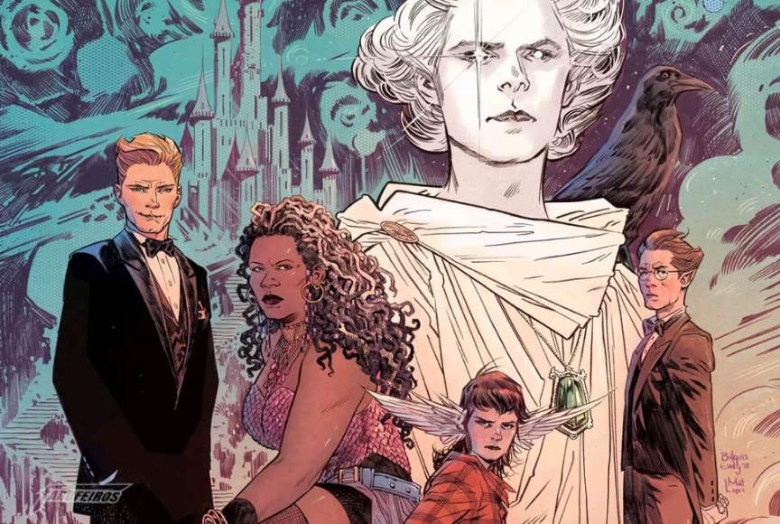 Conheça Sandman Universe com Neil Gaiman