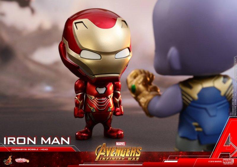 Cosbabys de Guerra Infinita - Homem de Ferro e Thanos