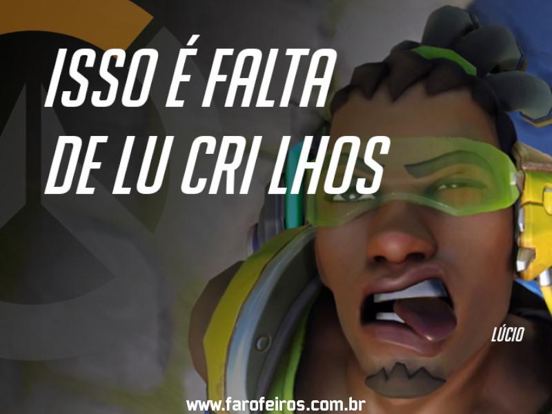 Lúcio - DES Motivação de Overwatch - Blog Farofeiros