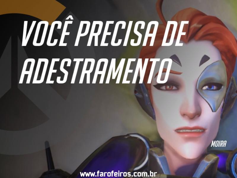 Moira - DES Motivação de Overwatch - Blog Farofeiros