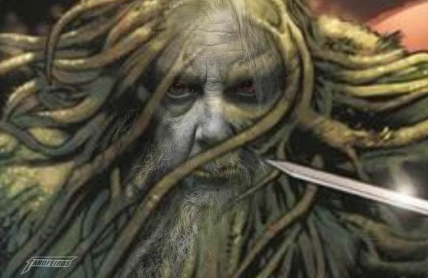 Monstro do Pântano com a cara do Alan Moore  - Blog Farofeiros