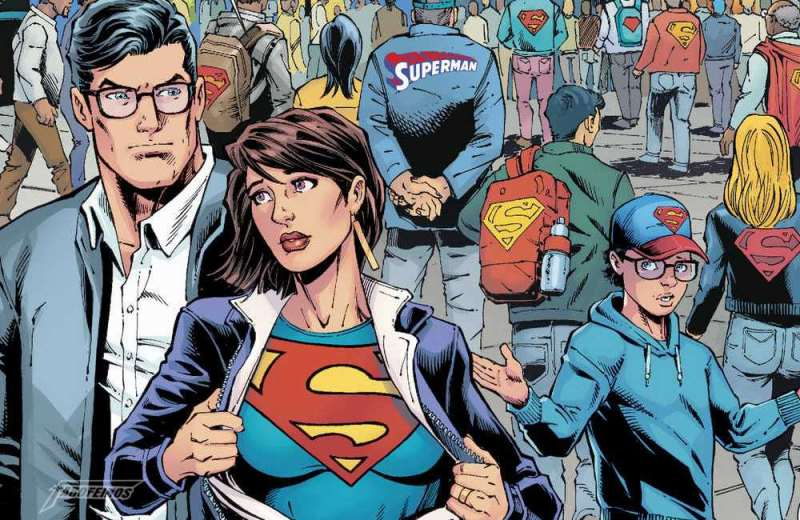 Action Comics #1000 - Lois Lane homenageia Superman - Blog Farofeiros