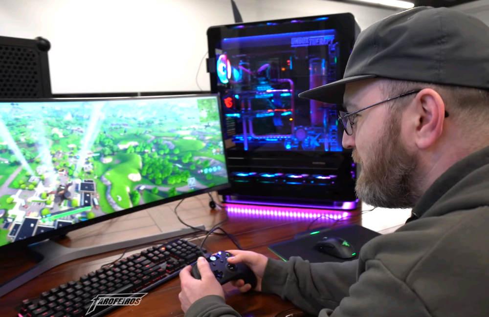 Fortnite em um PC de USD 20000