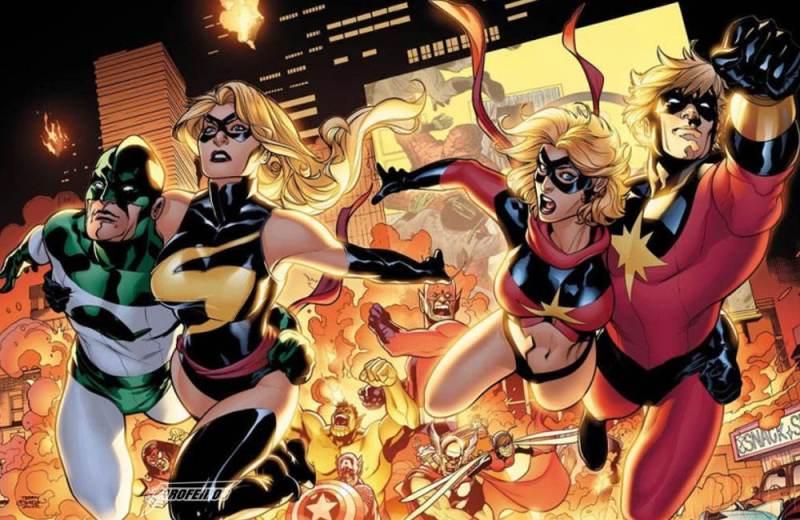 Quem é a Capitã Marvel - Invasão Secreta - Blog Farofeiros
